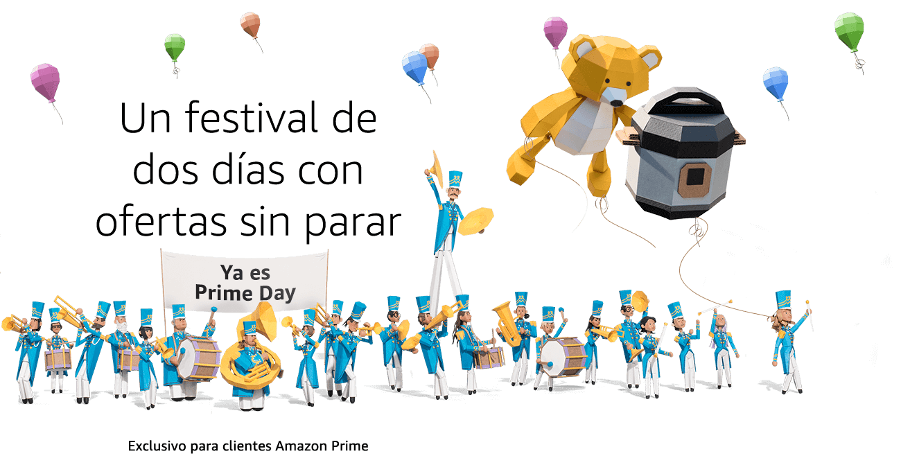 El Prime Day de Amazon ya está disponible.