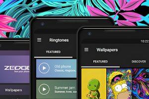 Zedge es una aplicación de personalización que te puedes descargar gratis para iPhone y Android