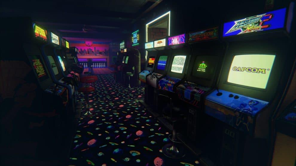 Máquinas de juegos Retro