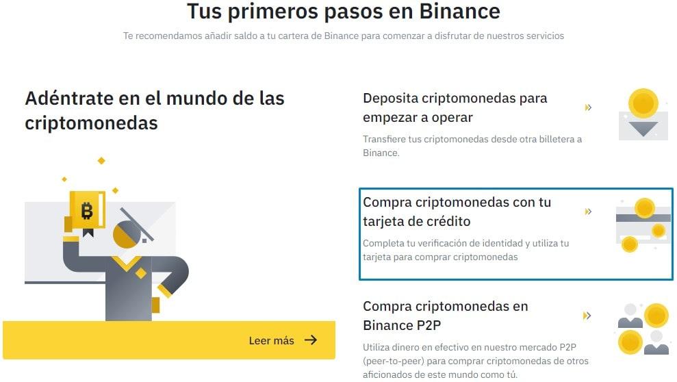 Cómo comprar Dogecoin en Binance Bienvenida