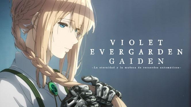 mejores películas anime de Netflix Violet Evergarden